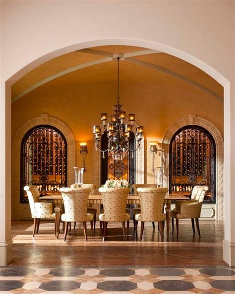 Mediterranean Dining Room by 15 Exquisite Mediterranean Dining Room Designs