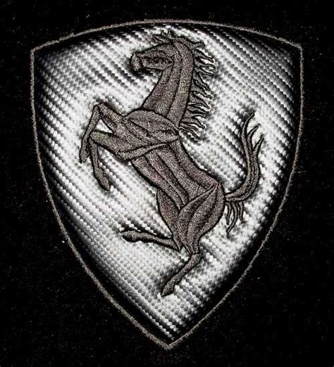 ferrari emblem black and white cars and only cars symbol of ferrari