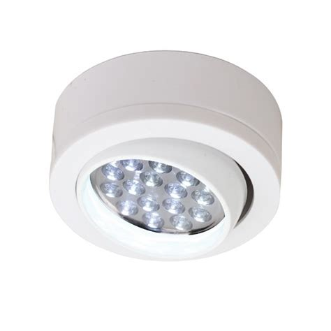 Aurora Lighting Au Kfl506w 12v Dc Polycarbonate Adjustable 12v Led Cabinet Lighting