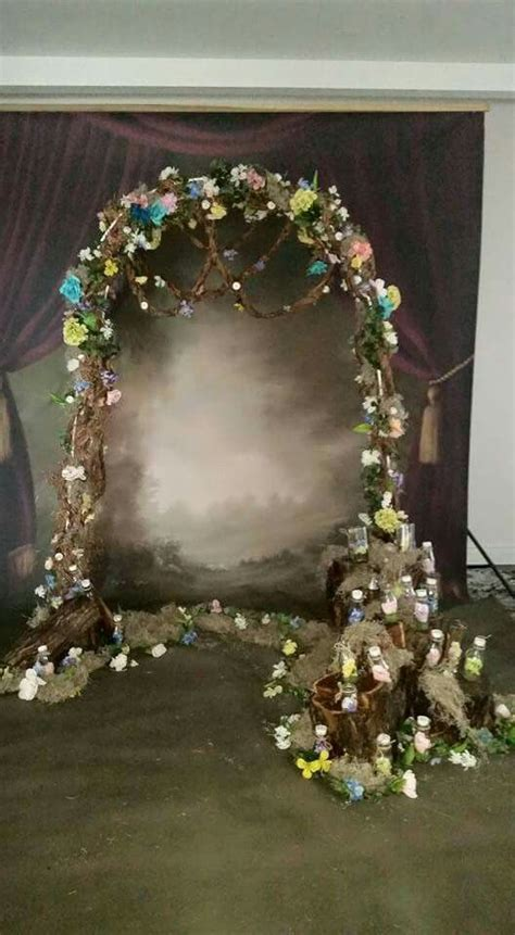 Enchanted forest backdrop   Backdrops & stage design in
