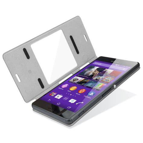 Style Cover Windows Scr24 Sony Xperia Z3 Black official sony scr24 xperia z3 style cover with smart window black reviews mobilezap australia