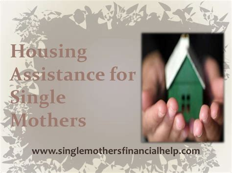 single mom housing housing assistance for single mothers