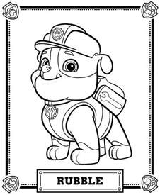 paw patrol free coloring pages paw patrol coloring pages coloring home