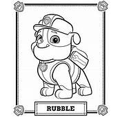 Paw Patrol Coloring Pages  Home