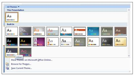 additional themes for powerpoint 2007 powerpoint 2007 themes