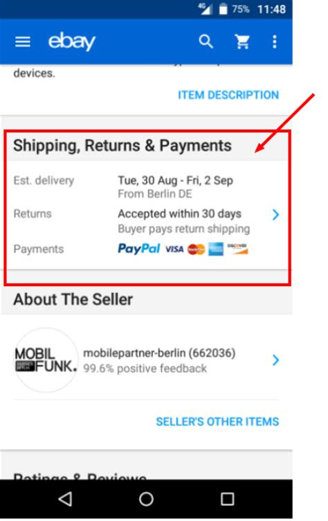 ebay adults section mobile ebay html css guidelines