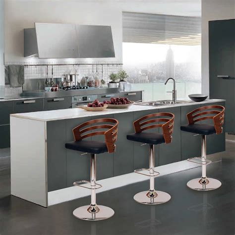 designer bar stools kitchen furniture dining kitchen best bar stools with backs for