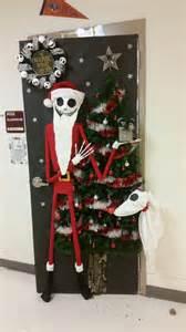 Nightmare Before Christmas Decoration Ideas The Nightmare Before Christmas Door Door Decorating