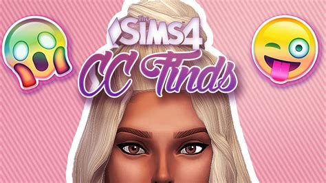 is sims 4 cc free the sims 4 cc finds youtube