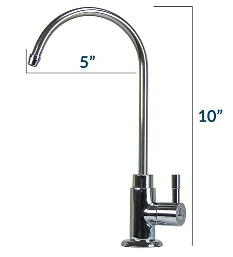 Faucet Kit by Osmosis System Chrome Finish Faucet Kit Olympia
