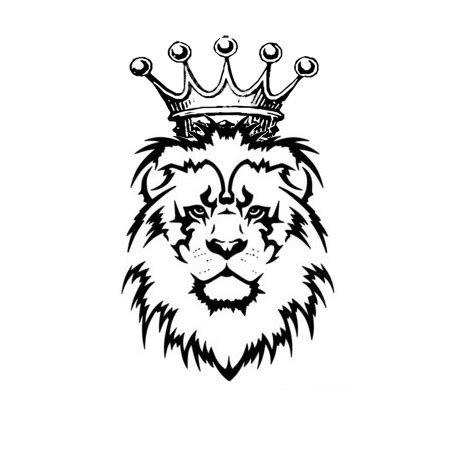 lion drawing with crown google search crowns crowns