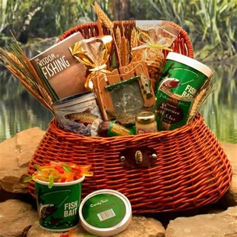 gift for fisherman fisherman s gift basket sports and outdoor