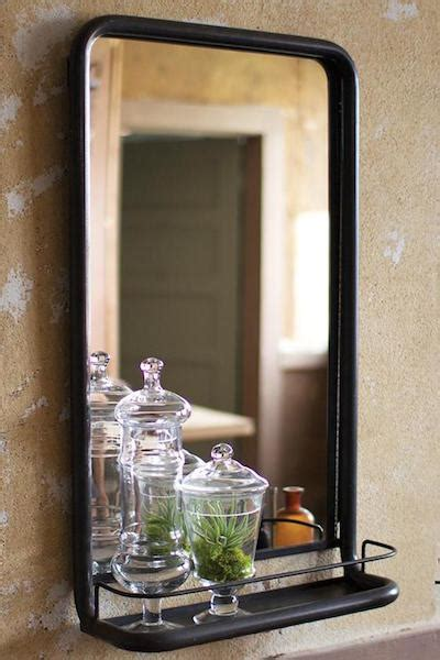 Bathroom Shelf With Mirror Wall Mirror With Shelf Look 4 Less And Steals And Deals