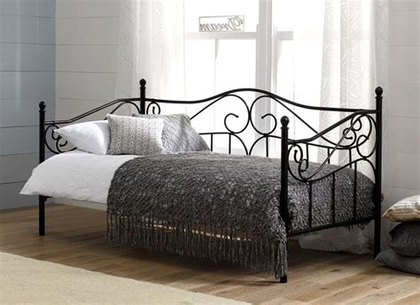 single metal futon sofa bed with mattress for an day bed our bedstead couldn t be more