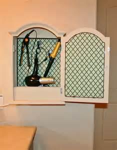 hair dryer storage cabinet creative hair dryer and curling iron storage ideas hative