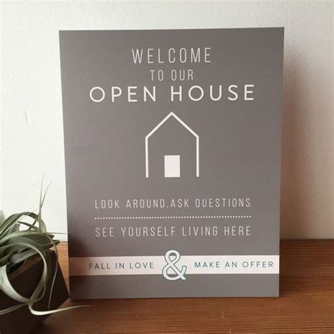 open house signs real estate open house welcome sign no 5 all things real estate