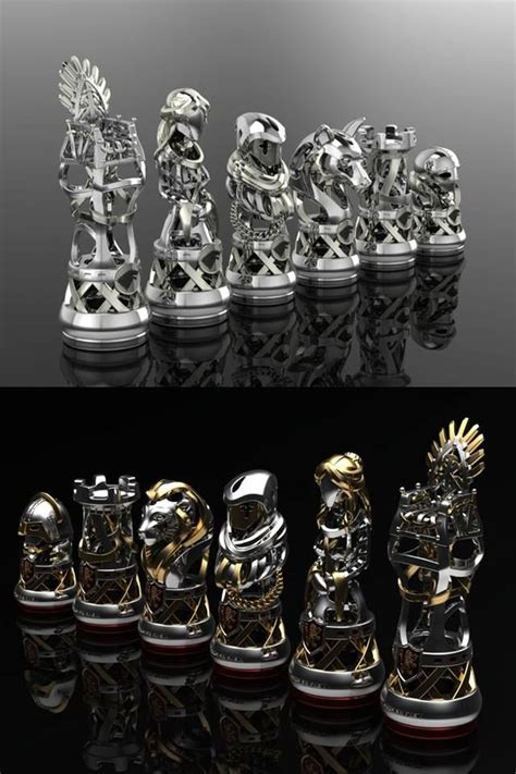 custom chess sets https www pinterest com electricone77 chess chess sets