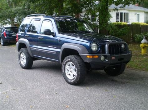 Jeep Liberty 2003 Type Find Used 2003 Jeep Liberty Sport Lifted Suspension Custom
