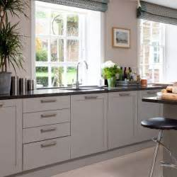 Grey Kitchens Grey Country Kitchen Housetohome Co Uk