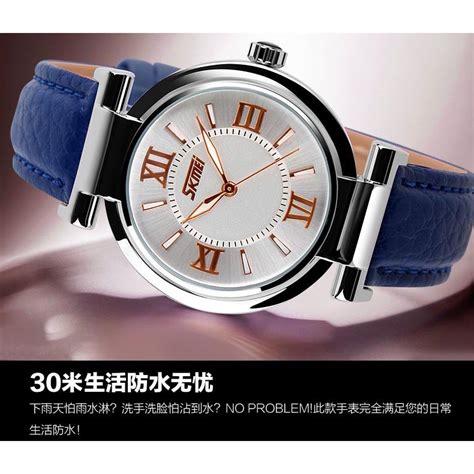 Jam Tangan Wanita Skmei 1133 skmei jam tangan analog wanita 9075cl white