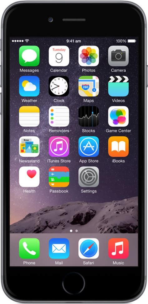mobile iphone apple iphone 6 space grey 16 gb at best price