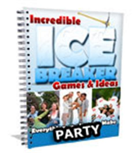 christmas ice breakers breaker and ideas