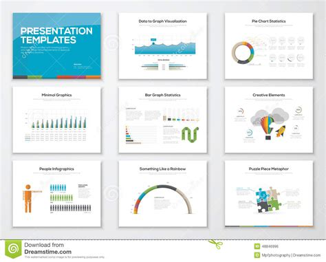 slide templates presentation slide templates and business vector brochures