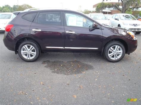 black nissan rogue 2012 black amethyst 2012 nissan rogue sv exterior photo