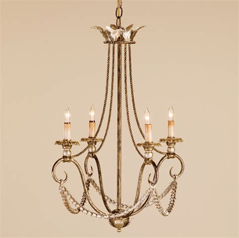 Currey Chandeliers Currey And Company 9461 Anise Four Light Chandelier