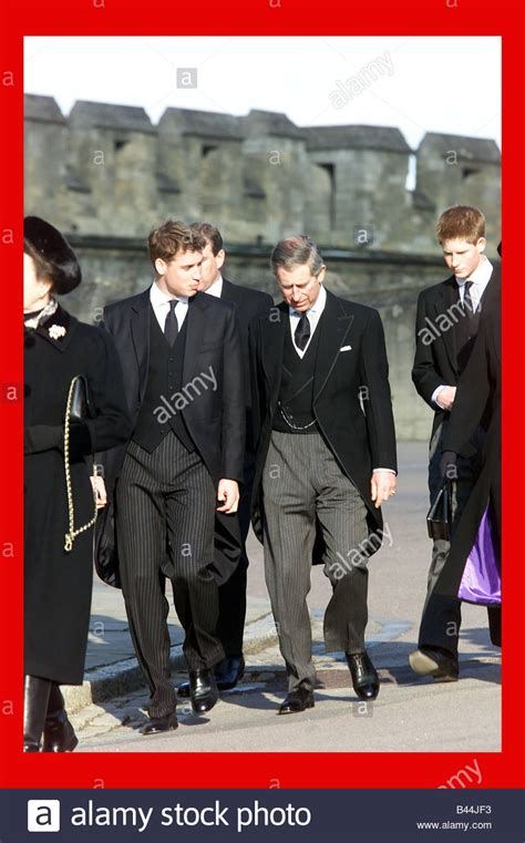 members of the royal family members of the royal family at the funeral of princess
