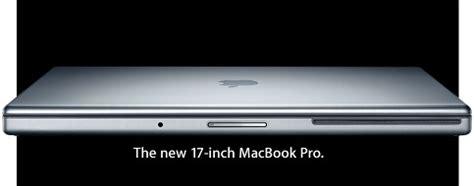 """17"""" macbook pro from apple tech ticker"""