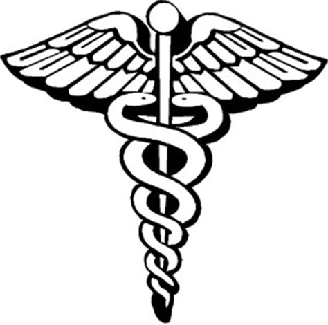 rod of asclepius & caduceus symbols meaning
