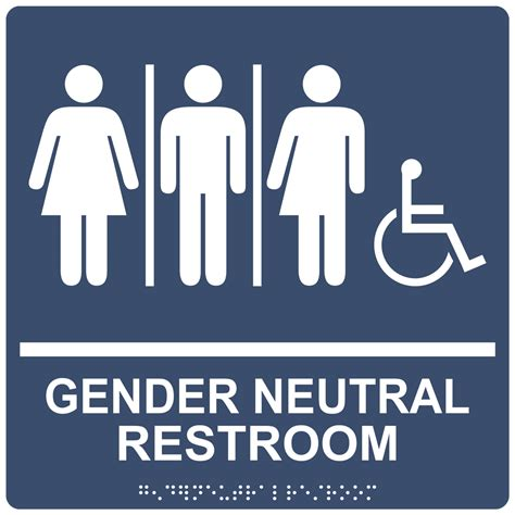 ada gender neutral restroom sign rre 25443 99 whtonnavy