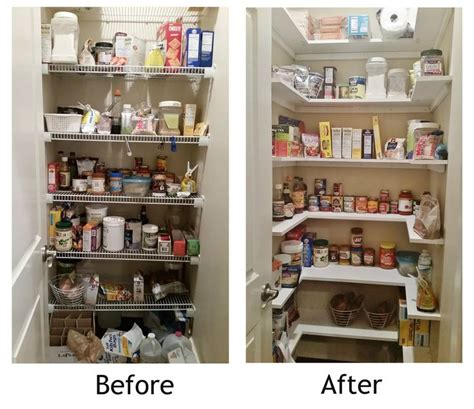 kitchen pantry shelf ideas 25 best ideas about deep pantry organization on pinterest