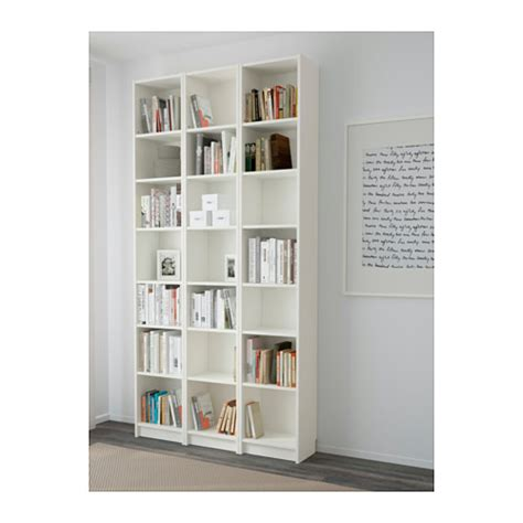 Billy Bookcase White 120x237x28 Cm Ikea Ikea White Billy Bookcase