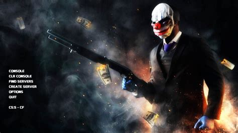 Payday 2 Criminal Record Payday 2 Menu Background Pack Counter Strike Source