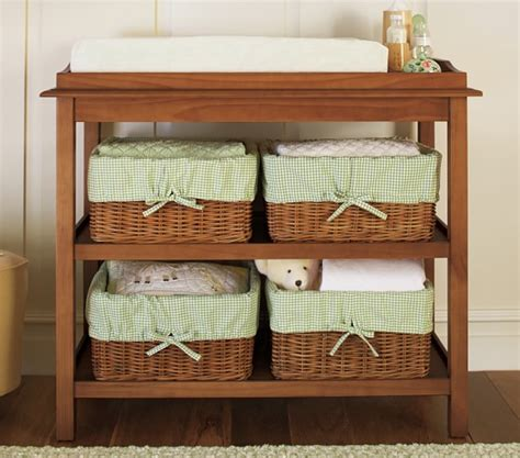 pottery barn changing table with baskets kendall changing table pottery barn