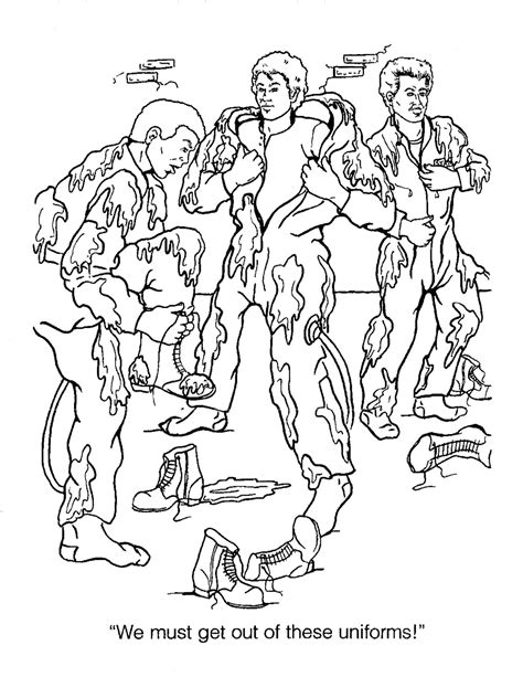 real ghostbusters coloring pages 9 images of the real ghostbusters coloring pages real