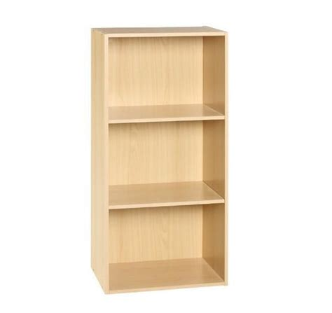 artistic 3 tires wooden cube bookcases flat packing 0 7mm