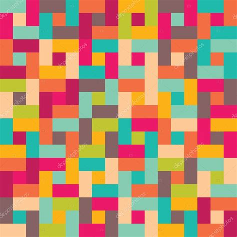 color pattern and texture seamless vector color geometric pattern modern texture