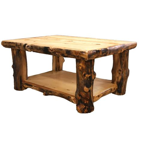 Wooden Living Room Table Log Coffee Table Country Western Rustic Cabin Wood Table Living Room Decor Ebay
