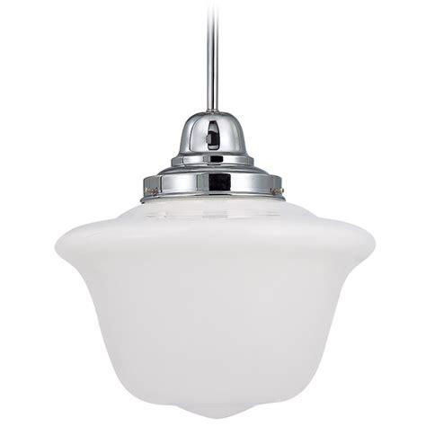 14 Inch Chrome Period Lighting Schoolhouse Pendant Light Schoolhouse Light Pendant