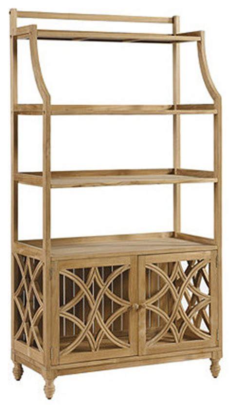 Patio Bakers Rack by Ceylon Teak Baker S Rack Traditional Patio Furniture