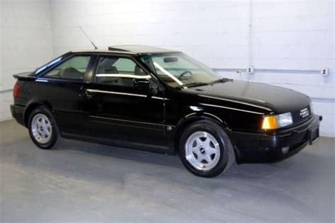 1991 audi quattro coupe 900 per year 1991 audi quattro coupe bring a trailer