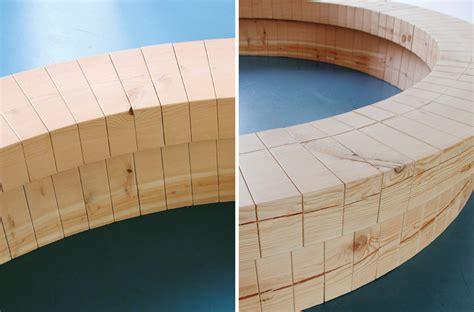Wood For Bench Wood Ring Bench8 Fubiz Media