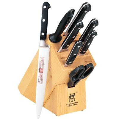 zwilling j a henckels twin professional quot s quot kitchen knife black friday zwilling j a henckels twin pro s 9 piece