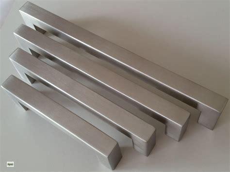 maniglie per cucina in acciaio cucina maniglie ba 96 128 160 192mm per mobili 14x14mm