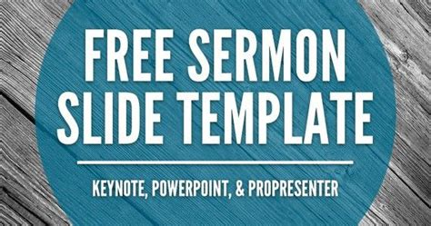 Free Sermon Slide Templates Keynote Powerpoint Propresenter Freebies For Church Media Free Sermon Powerpoint Templates