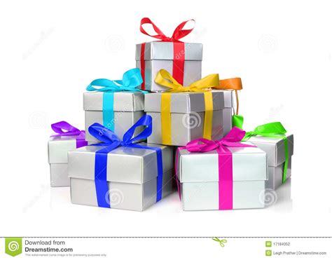 photo presents stack of presents stock photo image of colorful gift