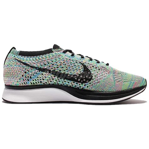 Used Authentic Nike Flyknit Racer Multicolor 2 0 Rainbow nike flyknit racer multicolor 2 0 rainbow running